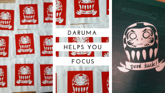 Daruma – focus and never give up