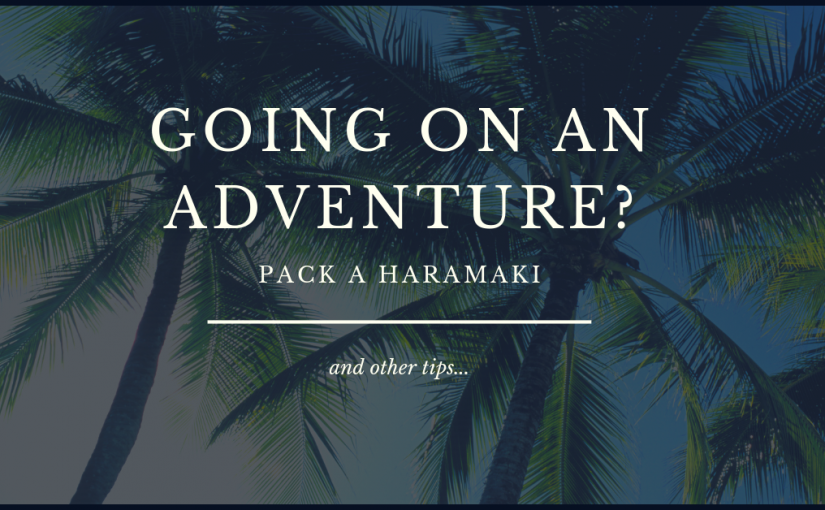 Take your haramaki with you on adventures