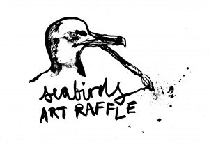 seabirds brighton art raffle
